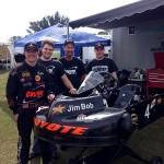 Jim Lipari, Patrick O'Neal, Brad Farmer and Sean Meier enjoy success at the Florida Pro Kart Series opener