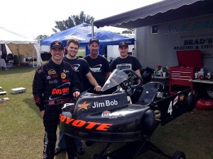 Jim Lipari, Patrick O'Neal, Brad Farmer and Sean Meier enjoy success at the Florida Pro Kart Series opener