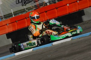 Lemke during the SKUSA SuperNationals XVIII (Photo: On Track Promotions - otp.ca)
