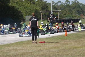 A wide variety of shifterkarts took part in the FPKS opener (Photo: Florida Pro Kart Series)