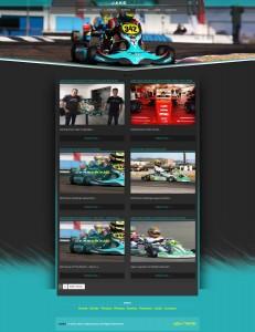 Jake Craig American Karting Driver Website Design
