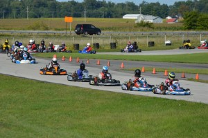The LO206 classes at New Castle Motorsports Park were among the largest and most competitive in 2014 (Photo: New Castle Motorsports Park)