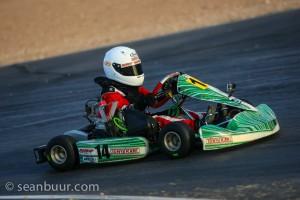 Josh Pierson drove to a podium finish both days in the Micro Max category (Photo: SeanBuur.com)