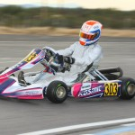 Luke Selliken drove his Rolison Performance Group Kosmic to top-five finishes both days at the Rotax Challenge of the Americas opener in Tucson (Photo: SeanBuur.com)