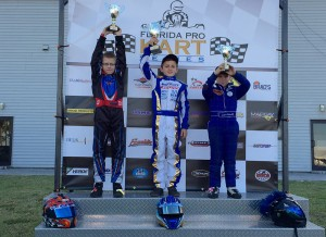 Top Kart USA pilot Jason Welage tops the podium in recent FPKS competition (Photo: Top Kart USA)