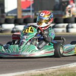 Nick Brueckner drove a perfect score in the third round of the Rotax Challenge of the Americas event in Phoenix, Arizona (Photo: eKartingNews.com)