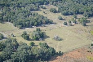 The area of land outside the city of Bushnell for the new BMP facility