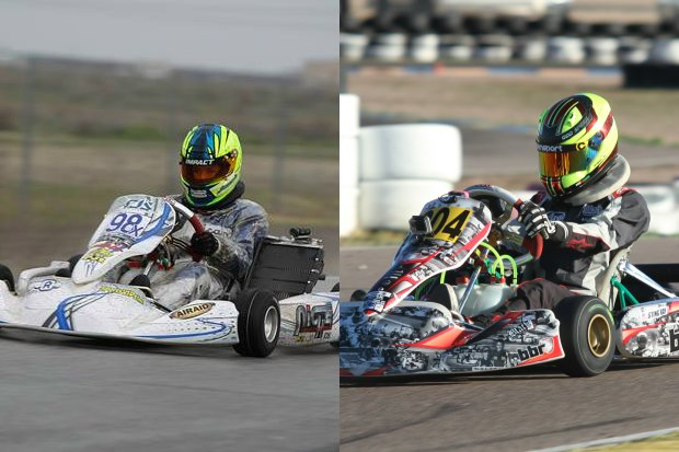 Jagger Jones and Sting Ray Robb will represent the United States of America at the CIK-FIA Academy Trophy program for 2015