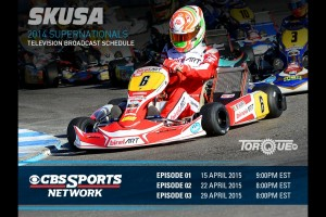 SKUSA SuperNats CBS Sports Network TorqueTV