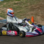 Luke Selliken drove his Rolison Performance Group Kosmic to the podium both days at the Rotax Challenge of the Americas event in Phoneix (Photo: SeanBuur.com)