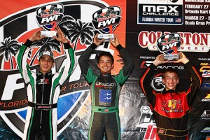Anthony Gangi Jr. returned to the Rotax Junior podium while in Orlando (Photo: Cody Schindel/CanadianKartingNews.com)