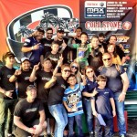 Brueckner celebrates his first Florida Winter Tour victory with the Orsolon Racing team (Photo: Orsolon Racing)