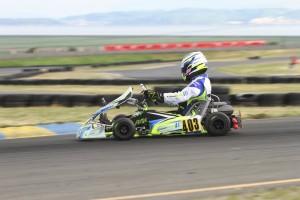 Michael Ilavia was quickest in DD2 (Photo: EKN)