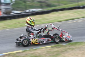Championship contender Sting Ray Robb was quickest in Junior Max at the end of Friday (Photo: EKN)