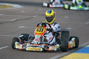 Sabre Cook has the Rotax Grand Finals ticket in sight heading to the finale weekend (Photo: SeanBuur.com)