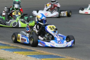 With fifth victory, Diego LaRoque clinched the provisional Micro Max championship (Photo: SeanBuur.com)