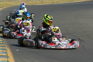 Win number three for Sting Ray Robb in Junior Max in five rounds of racing (Photo: SeanBuur.com)