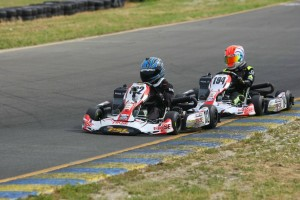 Grant Langon scored his first series victory in the Mini Max division (Photo: SeanBuur.com)