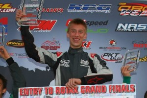 Robb was just crowed the Rotax Challenge of the Americas champion (Photo: SeanBuur.com)