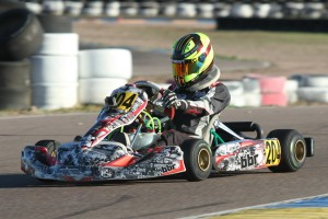 Sting Ray Robb scored five podium results in five races, including two victories for the month of February (Photo: EKN)