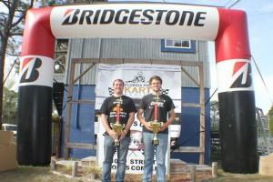 Briggs LO206 Senior championship podium with title winner Sean Meier (Photo: Double Vision Photography - Carl Barnes)