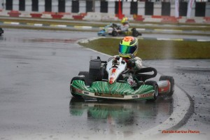 Dylan Tavella scored the Mini Max feature win on Saturday (Photo: Florida Karting Photos)
