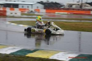 OGP driver Mathias Ramirez jumped back to his winning ways in Junior Max (Photo: Florida Karting Photos)