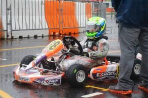 Micro Max Saturday winner Rafel Chaves Camara (Photo: Florida Karting Photos)