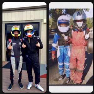 From then to now, Sting Ray Robb and Luke Selliken will compete at the Rotax Grand Finals together (Photo: Larry Robb)
