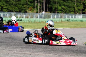 Matt Miller races ahead at Kershaw WKA Gold Cup in October (Photo: Double Vision Photography)