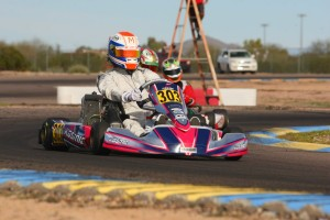 Luke Selliken doubled up in the podium category and remains in the Senior Max championship chase at the Rotax Challenge of the Americas (Photo: SeanBuur.com)
