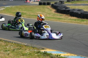Hannah Greenemeier recorded her first ever podium in Mini Max (Photo: SeanBuur.com)