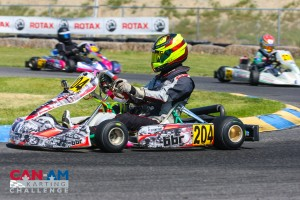 Sting Ray Robb continues his momentum at the Can-Am Karting Challenge