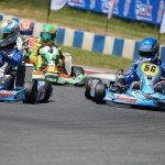 Top Kart USA drivers battled hard at the GoPro Motorplex (Photo: Top Kart USA)