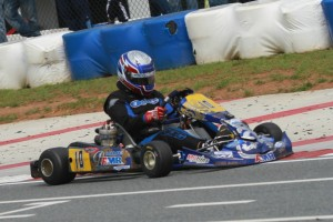 Jacob Donald gave KartSport North America its fourth victory in six races at GoPro Motorplex in USPKS competition, and leads the championship standings in Leopard Pro