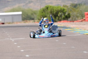 David Malukas added to Top Kart's 2015 win total in TaG Junior (Photo: On Track Promotions)