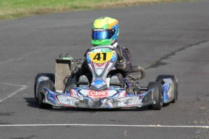 Hunter Cheetham (#41) finished third for the round in Formula Junior (Photo: Fast Company/Alice Addy)