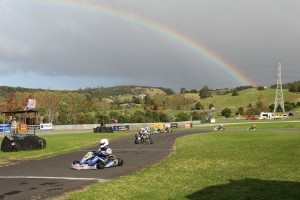 Corey Green (#5) claimed 125cc Rotax Max Light class honours (Photo: Fast Company/Alice Addy)
