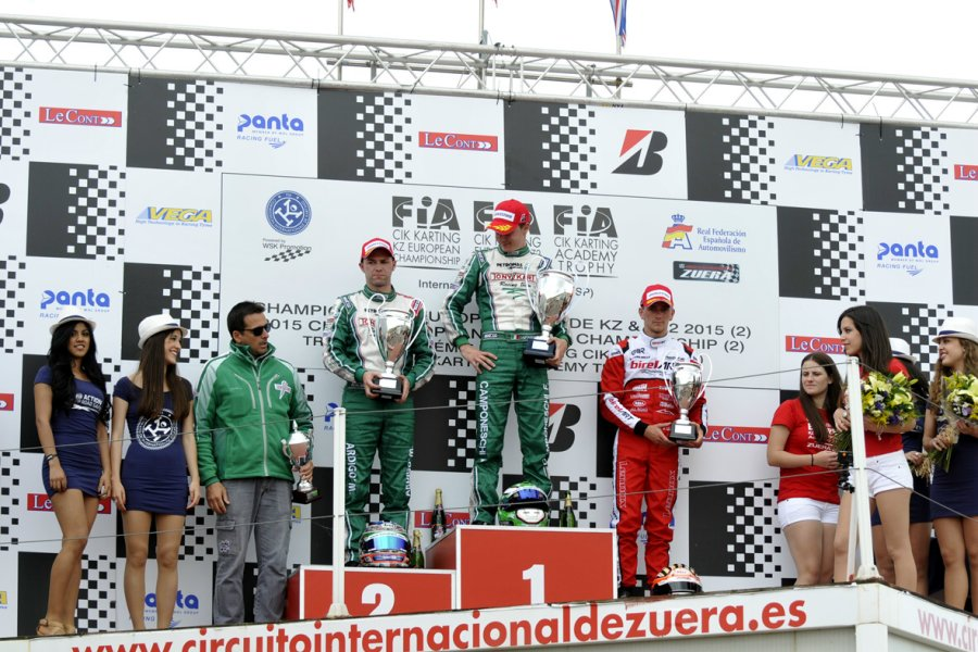 KZ podium (Photo: Press.net Images)