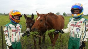 Michael & Nick Texas Pic Horses