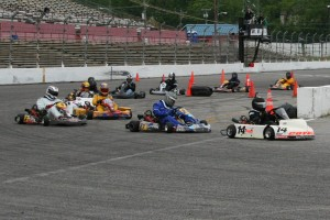 It doesn't matter when or where, or what type of kart you have, Briggs LO 206 gets you out on the track racing (Photo: SEKARacing.com)
