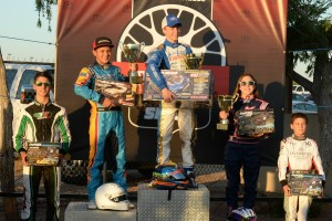Junior drivers received radio control product from Traxxas to the top-five finishers in four categories at the SKUSA SpringNationals (Photo: On Track Promotions - otp.ca)