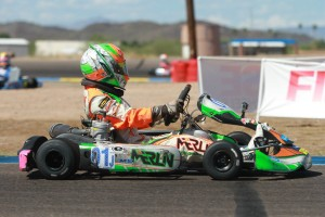 Merlin Nation invaded the west with Brandon Lemke earning his first TaG Junior victory in SKUSA competition (Photo: EKN)