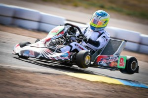 Christchurch driver Matthew Hamilton was quick but unlucky at the first two rounds of this year's Fikse Wheels SuperKarts USA Pro Tour series in Arizona over the weekend (Photo: On Track Promotions - otp.ca)
