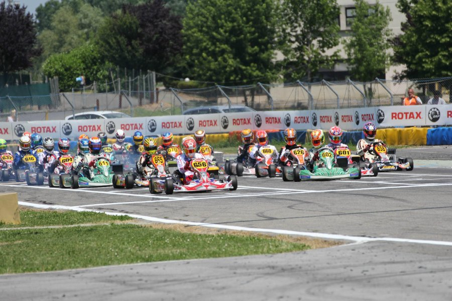 Rotax Euro Challenge Start Castelletto 2014