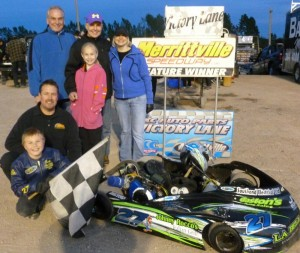 Tucker Wood Victory Lane
