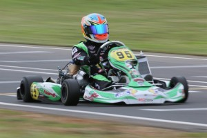 KZ2 winner Jake Klarich (Pic: Coopers Photography/Davidson)