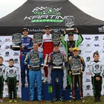 The winners at Round Two of the 2015 Australian Kart Championship (Pic: Coopers Photography/Davidson)