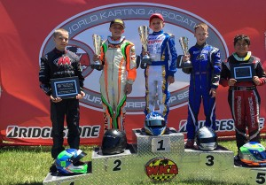 Jason Welage was the man of the weekend taking home multiple wins for Top Kart USA (Photo: Top Kart USA)