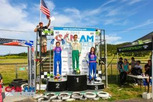 Sunday Senior Rotax podium (Photo: SeanBuur.com)